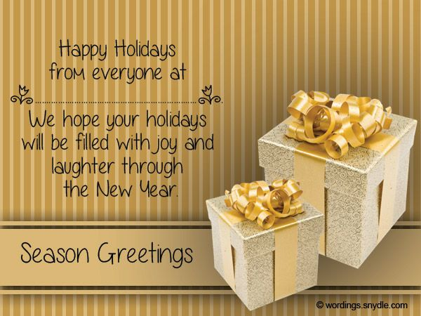 Christmas messages for business wordings and messages christmas christmas messages m4hsunfo Image collections