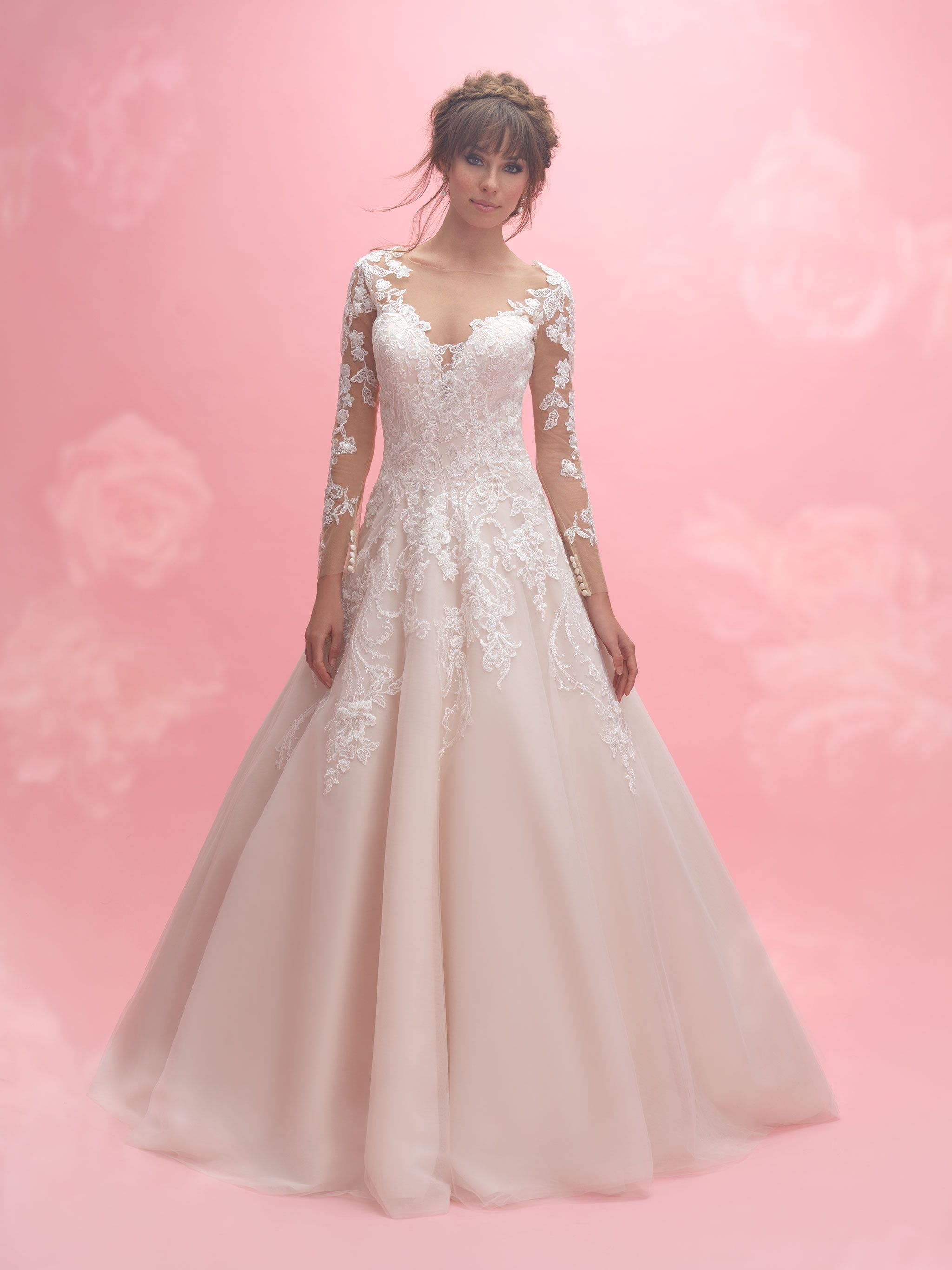 Allure Romance 3059 Champagne/Ivory/Nude/Silver Size 30 | Webster ...