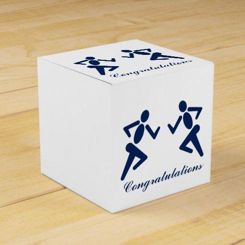 Funny Run Running Fitness Sport Congratulations Favor Box