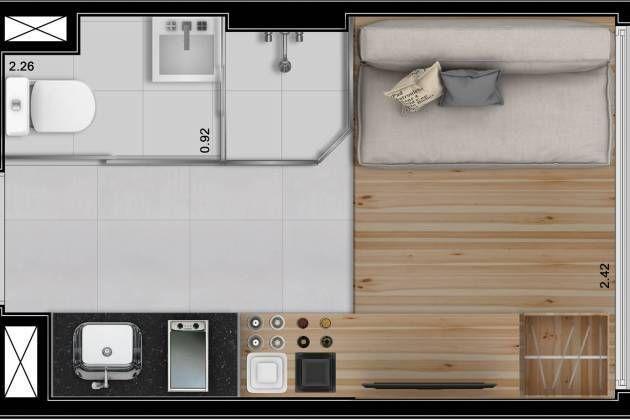 Apartamentos de 10 m²: ¿mínimo necesario o lucro máximo? | Metro ...