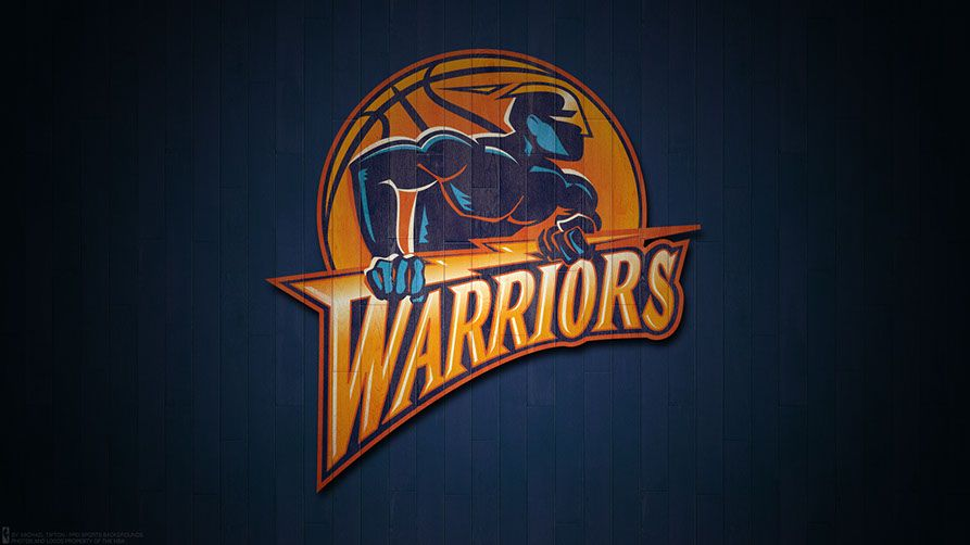 Golden State Warriors 2017 Logo Wallpaper Atl3