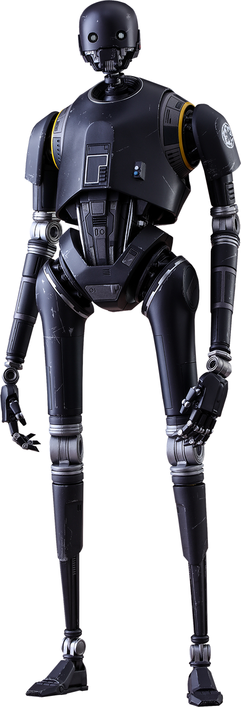 K 2so sixth scale figure by hot toys rogue one a star wars story movie masterpiece series - Robot blanc star wars ...