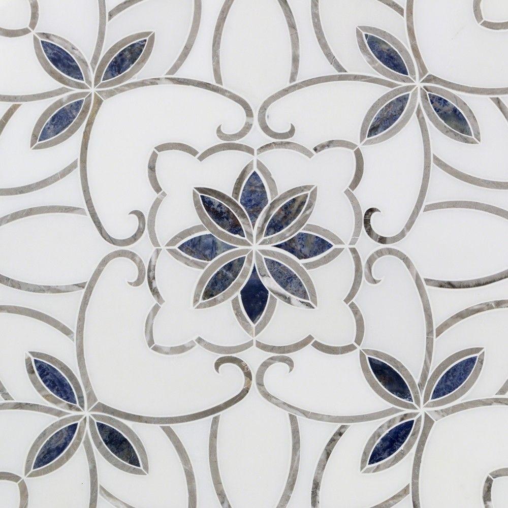Eminence sansa marble tile tilebar powder room pinterest eminence sansa marble tile for backsplash dailygadgetfo Images