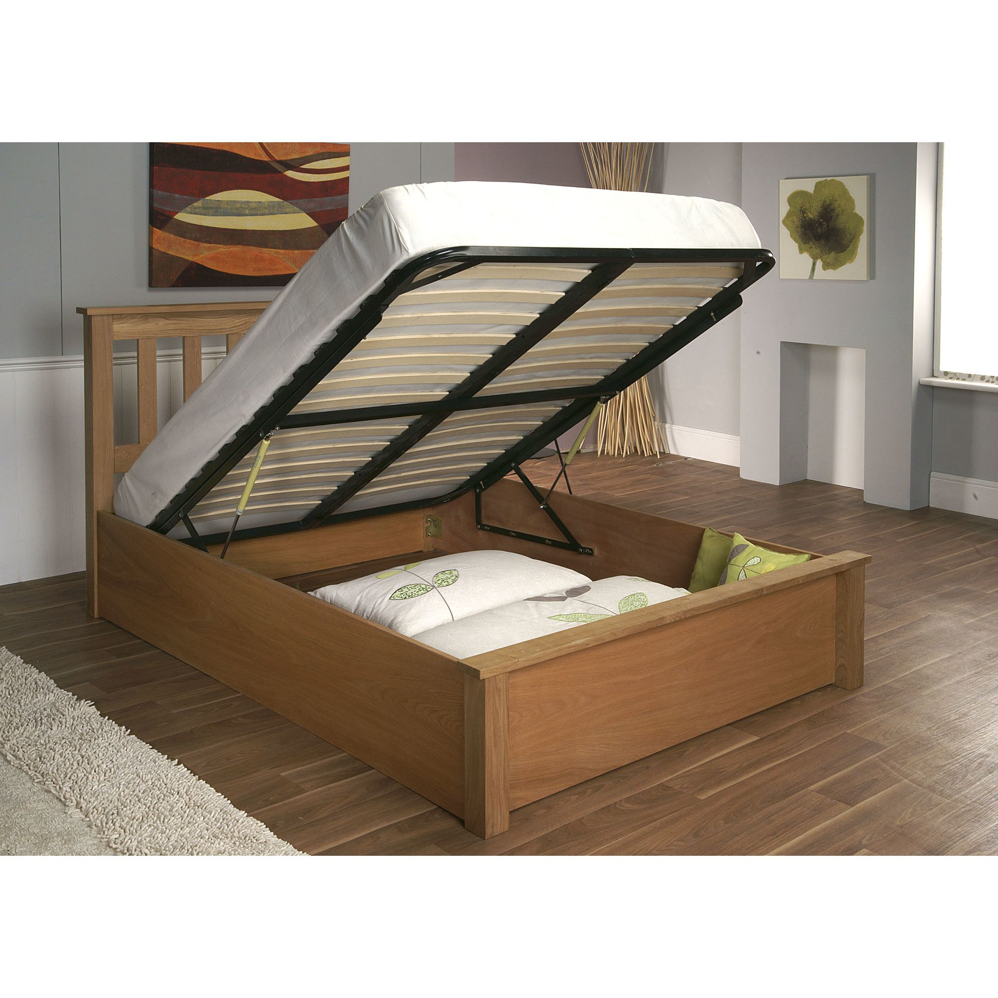 Limelight Terran Ottoman Bed Bed frame with storage