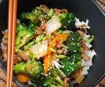شرائح اللحم بالسمسم على الطريقة الصينية
