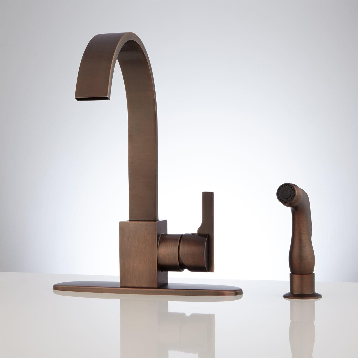 Aster Kitchen Faucet with Side Spray