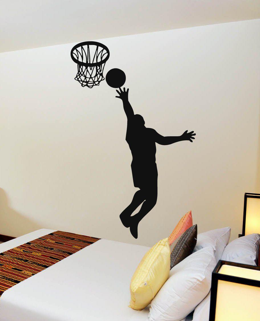 Wall decals vinyl decal sticker murals gym decor sport basketball