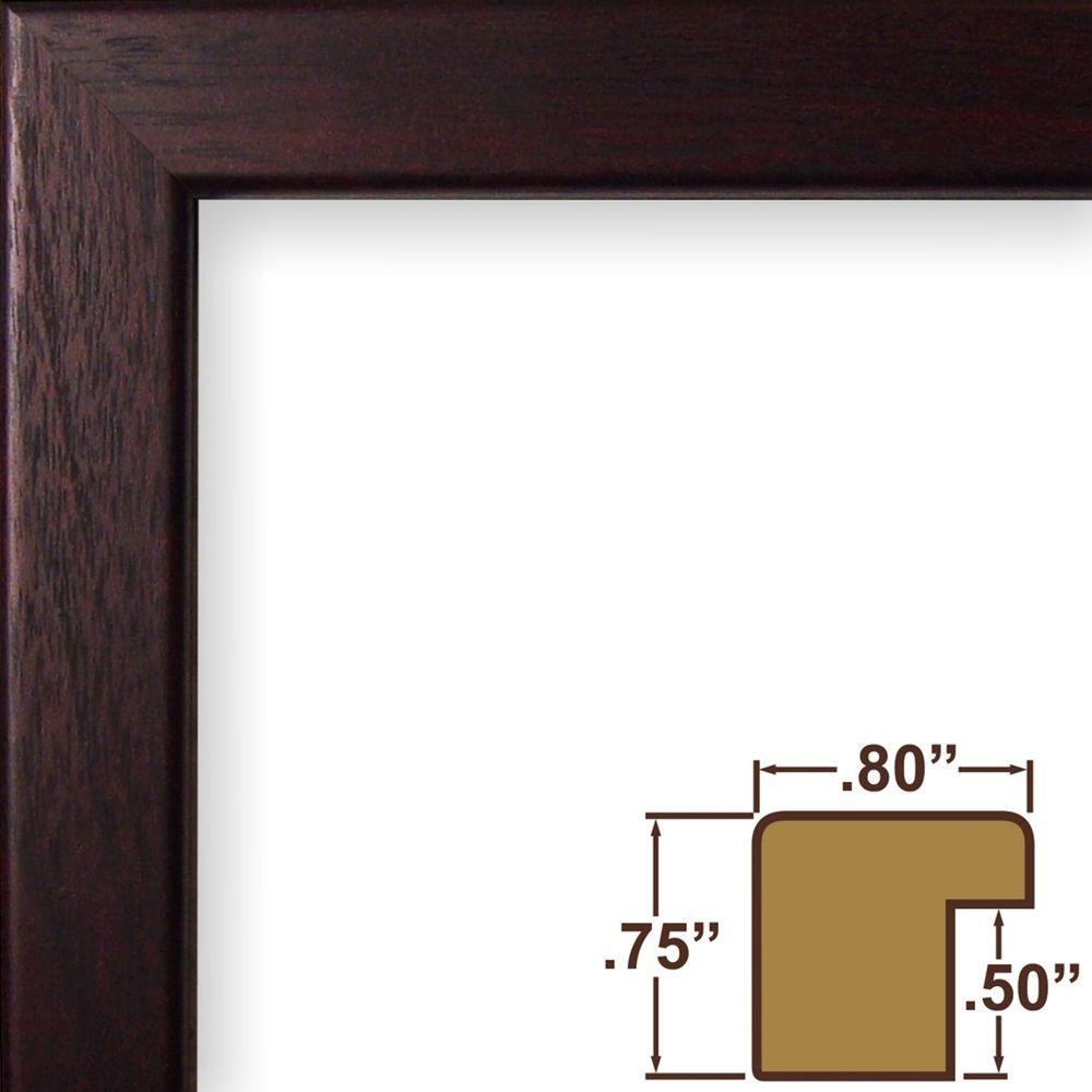 Craig frames bauhaus 8 modern burgundy walnut picture frame craig frames 08 burgundy picture frame poster frame modern decor 72035 craigframesinc jeuxipadfo Image collections