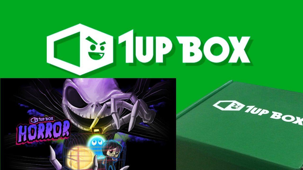 1UP Box October (Horror)