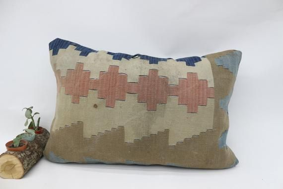 Geometric Pillow, Green Pillow, Turkey Pillow, Handwoven Pillow, Tribal Pillow, Organic Pillow, Bohe