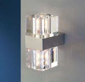 Aplique CubicAplique de led pared pared cristal led sQxhCtrd