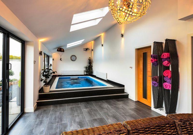 20 Striking Modern Indoor Pool Designs Small Indoor Pool Indoor Swimming Pool Design Indoor Pool Design