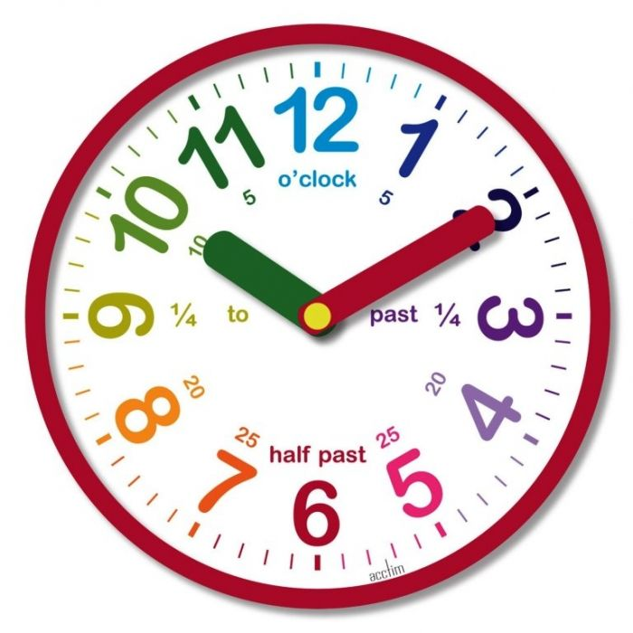 20 Cute And Colorful Wall Mount Clocks For Kid S Bedroom Clock Kids Wall Clock Childrens Wall Clock