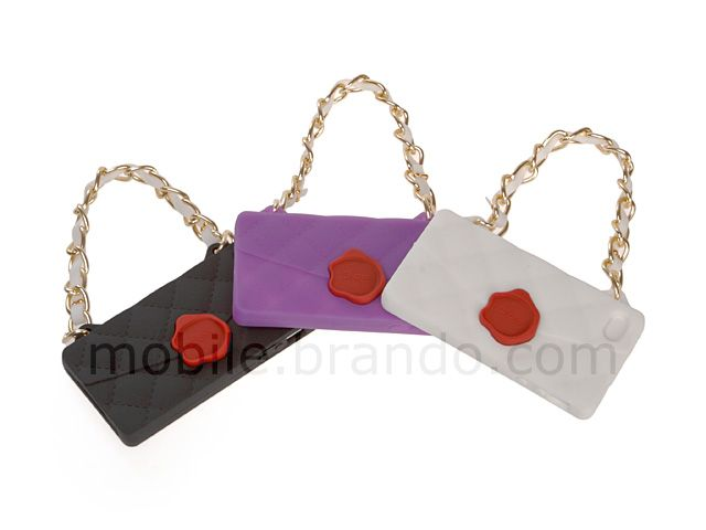 iPhone 4/4S Handbag Silicone Case