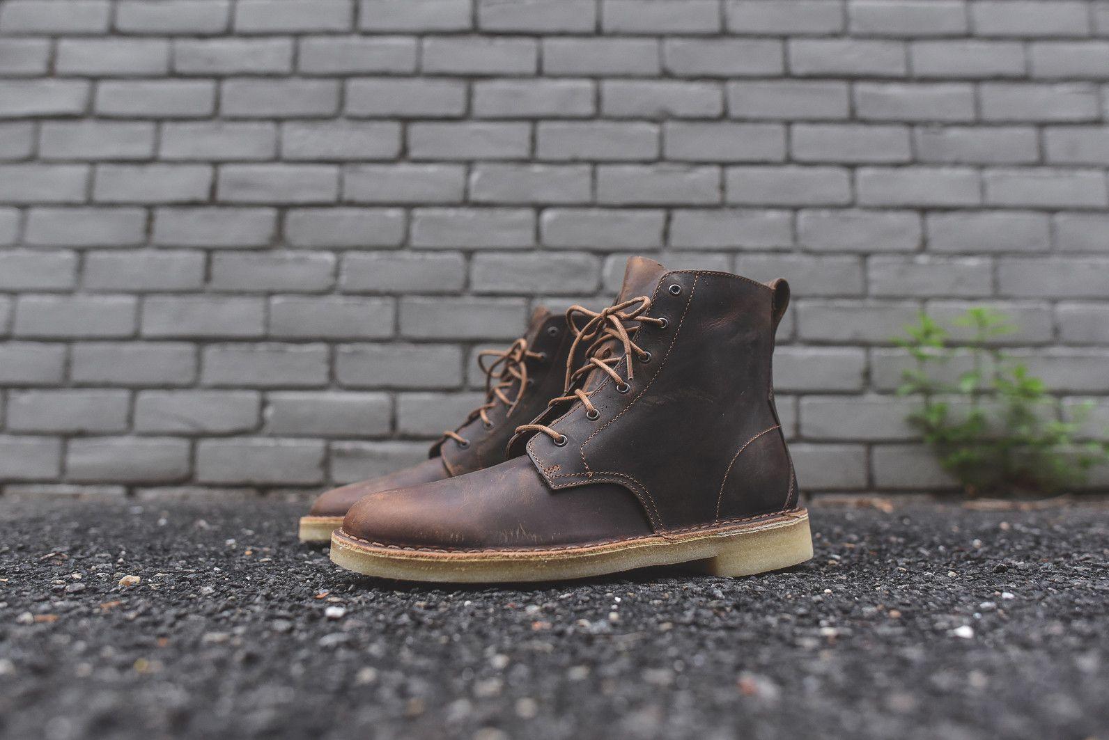 Clarks Desert Mali Boot Beeswax Boots Gentleman Shoes Boots Men
