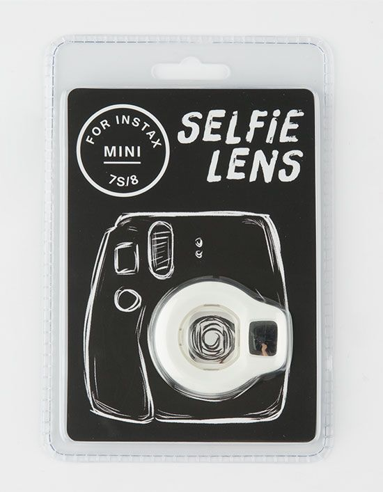 Selfie lens for Instax Mini 7S/8. Totally need this for mine!