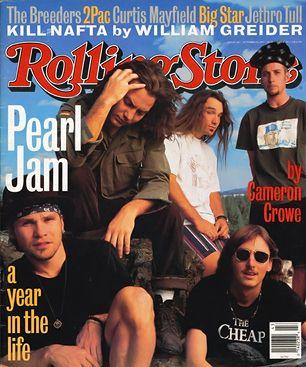 Pearl Jam, Jeff Ament, Eddie Vedder