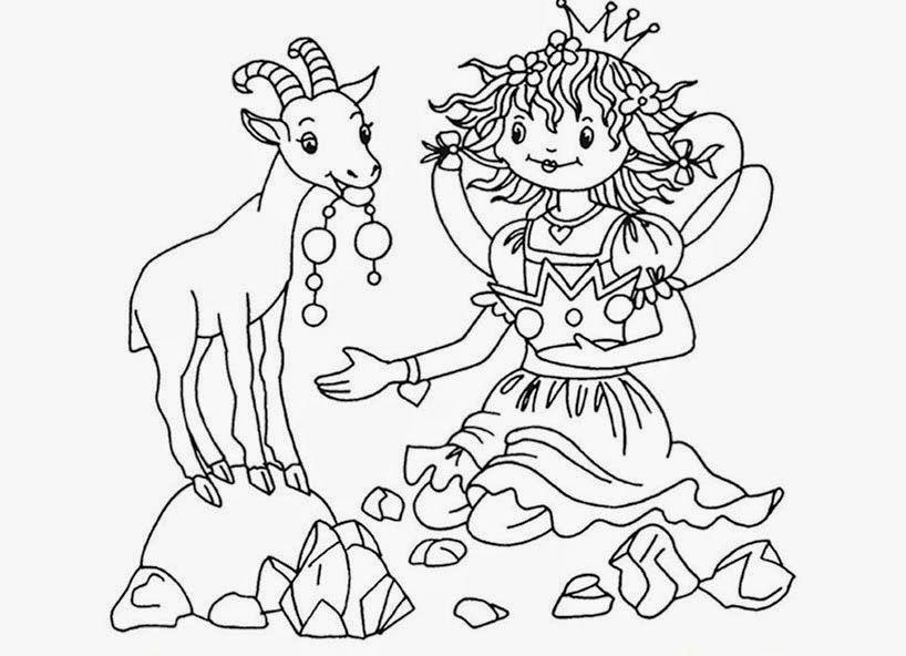 mandala lillifee ausmalbilder - kinder ausmalbilder