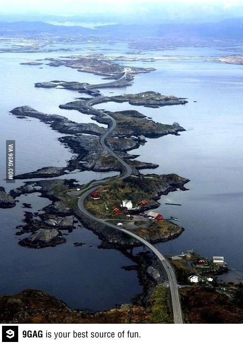 Atlanterhavsveien Atlantic Road, Norway