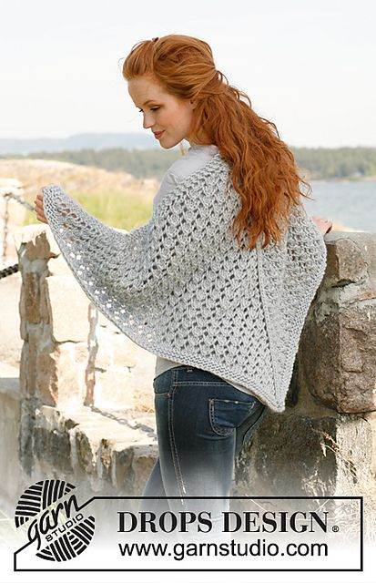 ace289e00512 Craft Passions  Beautiful Shawl.  free   Knitting pattern link he ...