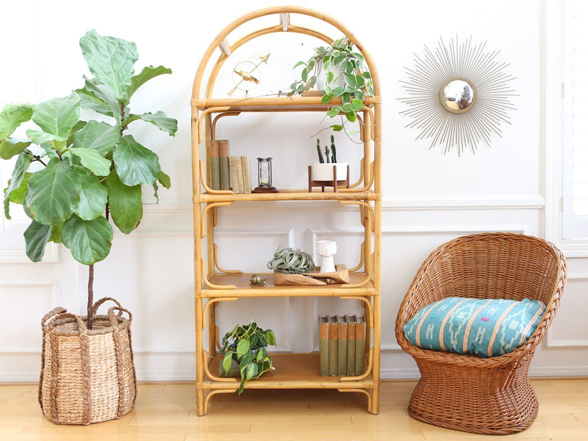 designs bookcases gray part painting two books basket bookcase lacquered urns rug wall jute decorative armchair rattan wood white fabric best small floor