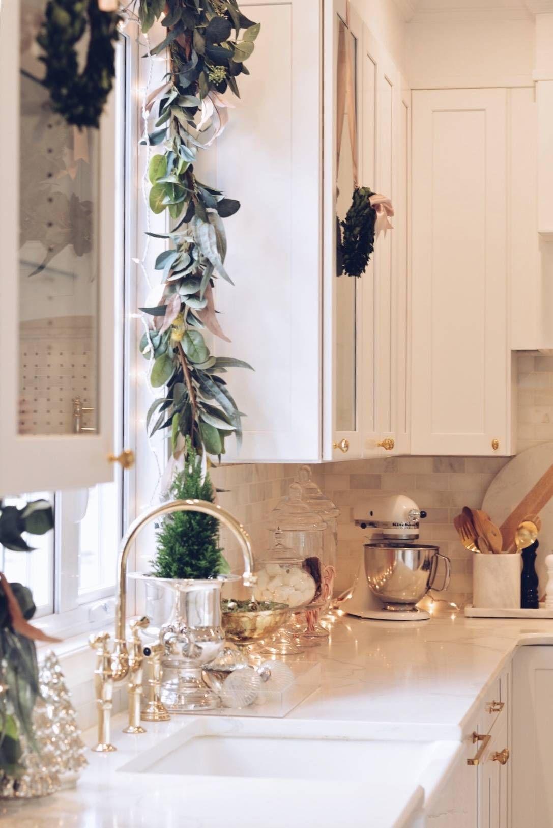 elegant christmas part ii christmas kitchen decor in 2020 christmas kitchen decor christmas on kitchen xmas decor id=24636