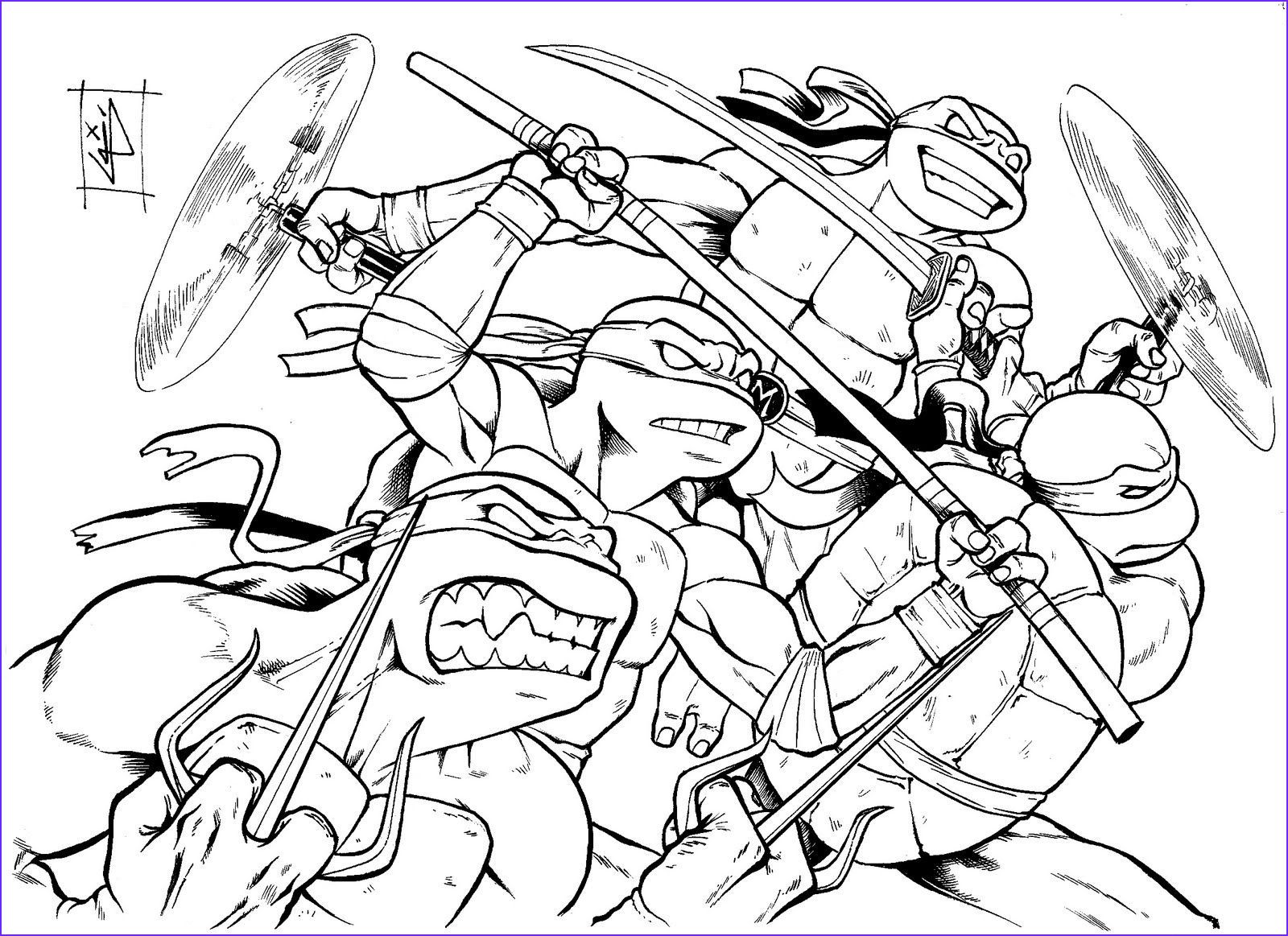 kleurplaat turtles masker in 2020 coloring pages