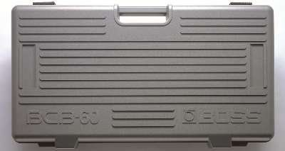 Boss BCB-60 Deluxe Pedal Board and Case  http://www.instrumentssale.com/boss-bcb-60-deluxe-pedal-board-and-case/