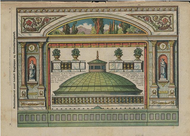 1924 Paper Theater Stage Parts by pilllpat (agence eureka), via Flickr
