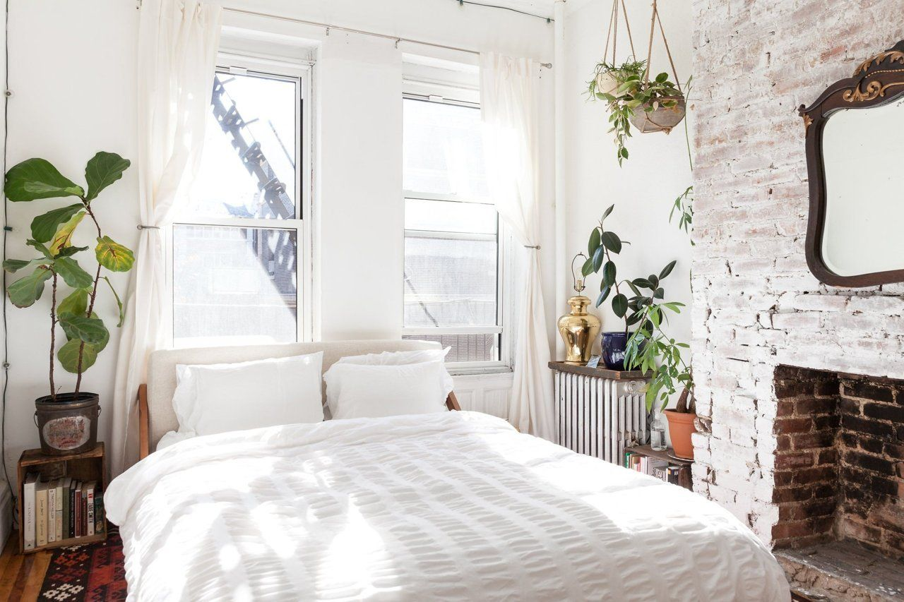 cozy furniture brooklyn. House Tour: A Cozy 650 Square Foot Brooklyn Brownstone | Apartment Therapy Furniture