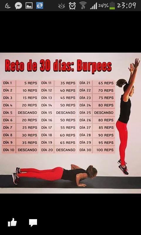 desafio 30 dias flexiones