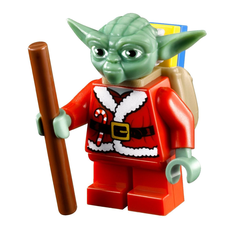 lego star wars advent calender yoda minifigure - Lego Yoda