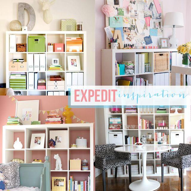 Expedit Inspiration | Organizations, Inspiration And Ikea Expedit
