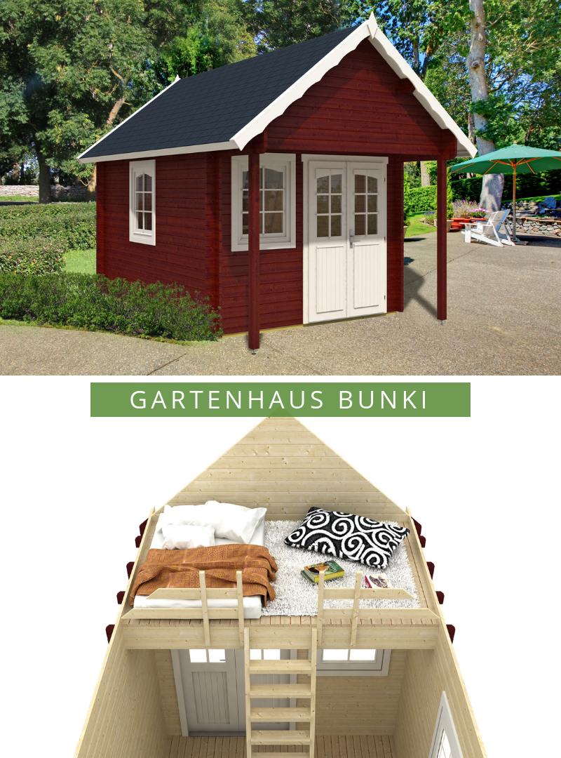 Gartenund Freizeithaus Bunkie40 122800.2 Haus