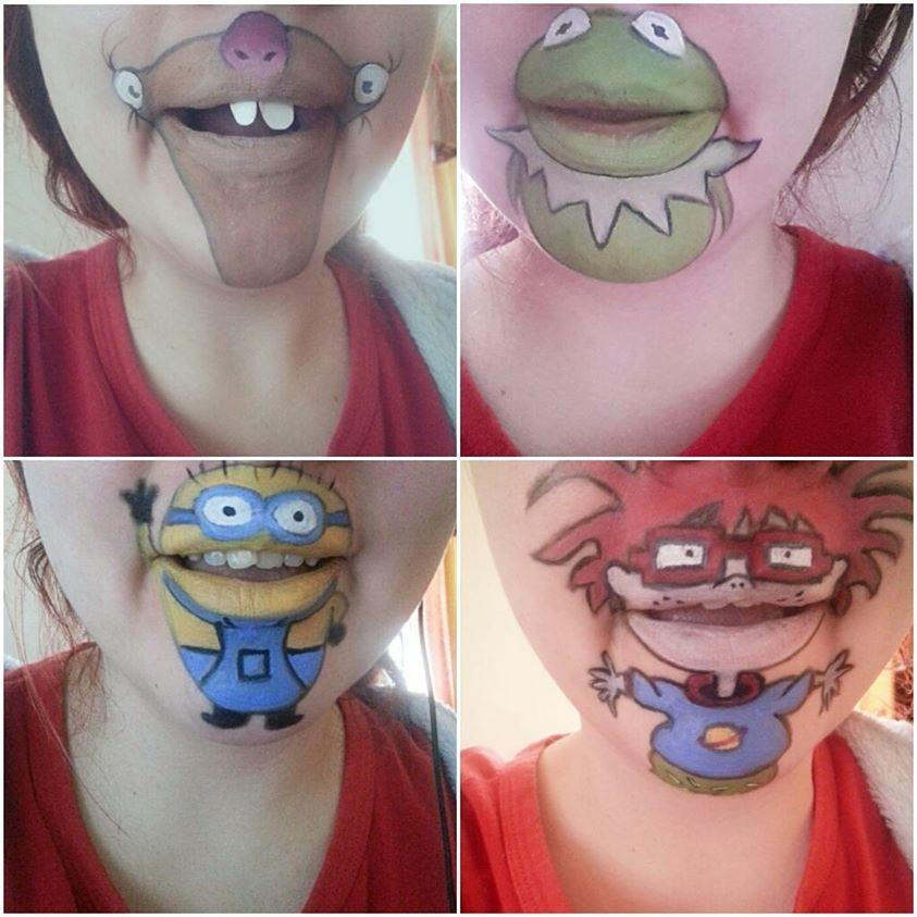 Lip art. Originally from Laura Jenkinson.