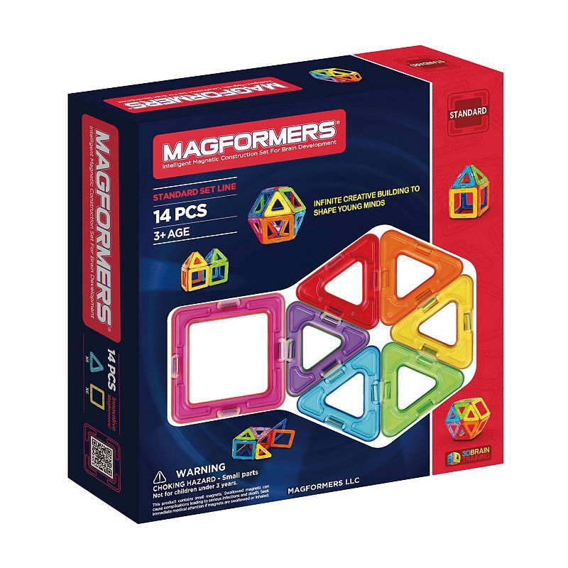 Magformers 14-pc. Rainbow Set, Multicolor
