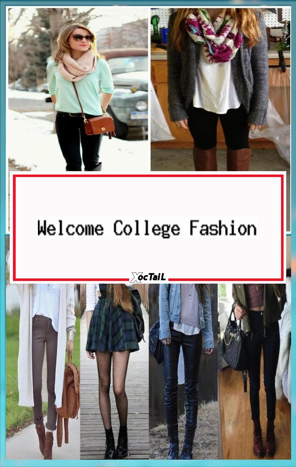 Cute Back to School Outfits Fall College Outfit Ideas in 22