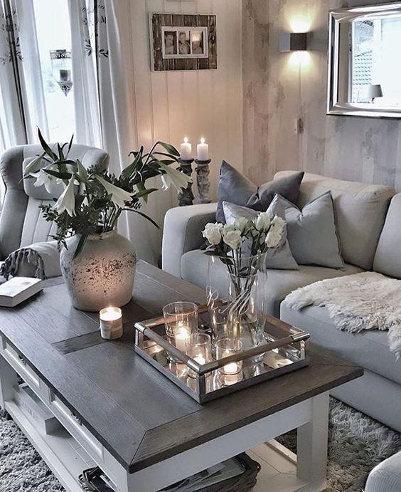 Florida haus dekoration graues zimmer graues raumdekor wohnzimmer ideen wohnideen zeitgenössisches wohnzimmer innenräume