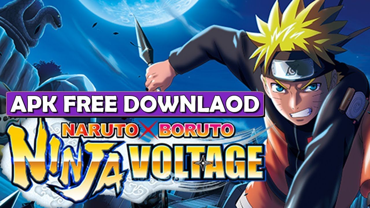 naruto x boruto ninja voltage apk file download