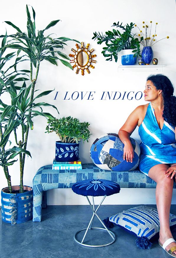 Indigo Do's: Fabric DIY's