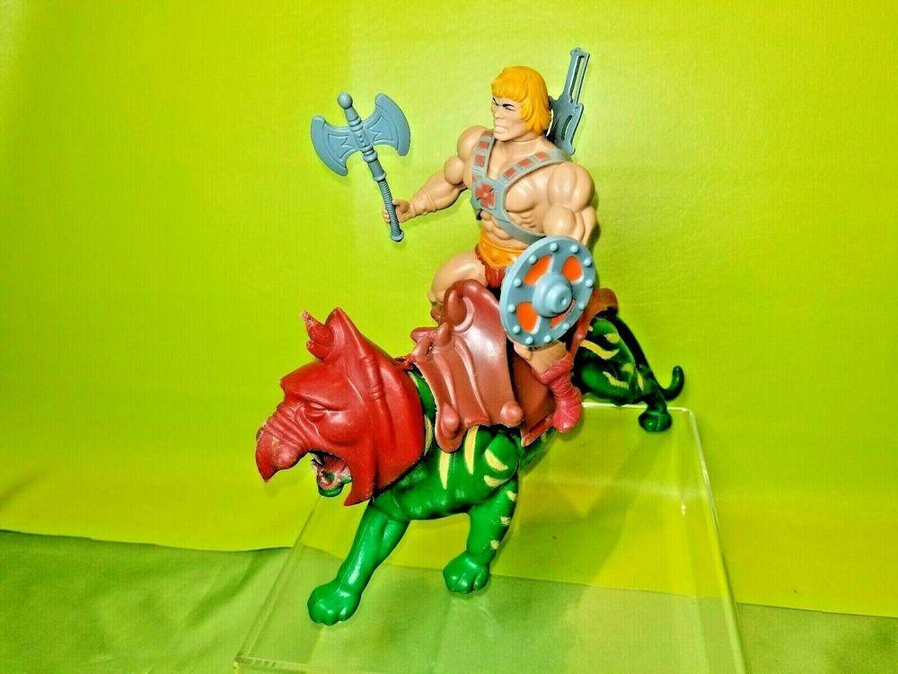 HE MAN /& Skeletor Battlecat MASTERS OF UNIVERSE MOTU figures MADE IN MEXICO
