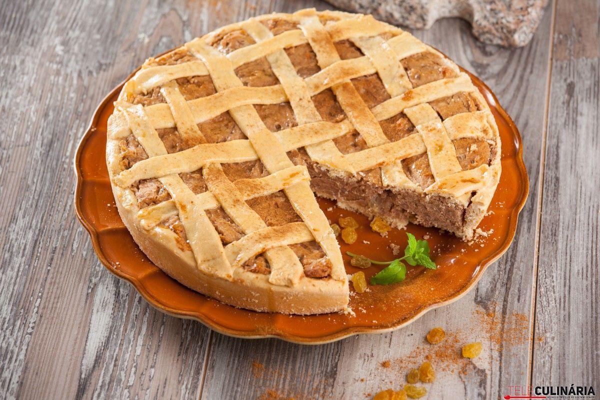 Receita de Tarte de castanha. Descubra como cozinhar Tarte de castanha de maneira prática e deliciosa!