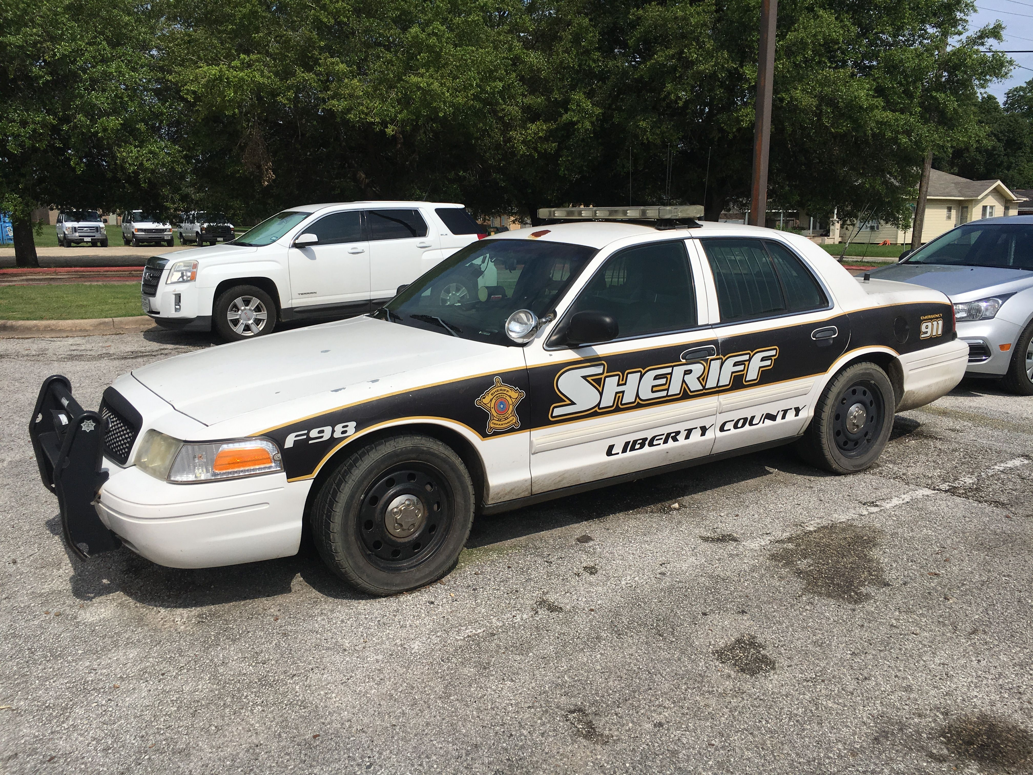 Liberty county sheriff s office ford crown victoria texas