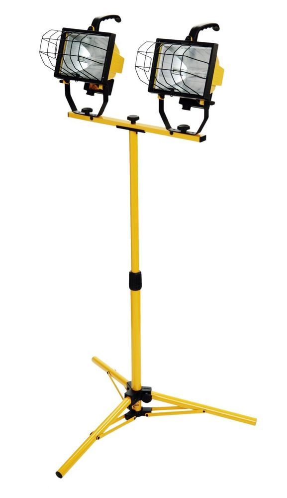 Tripod Work Light Construction Worklight Portable 1000
