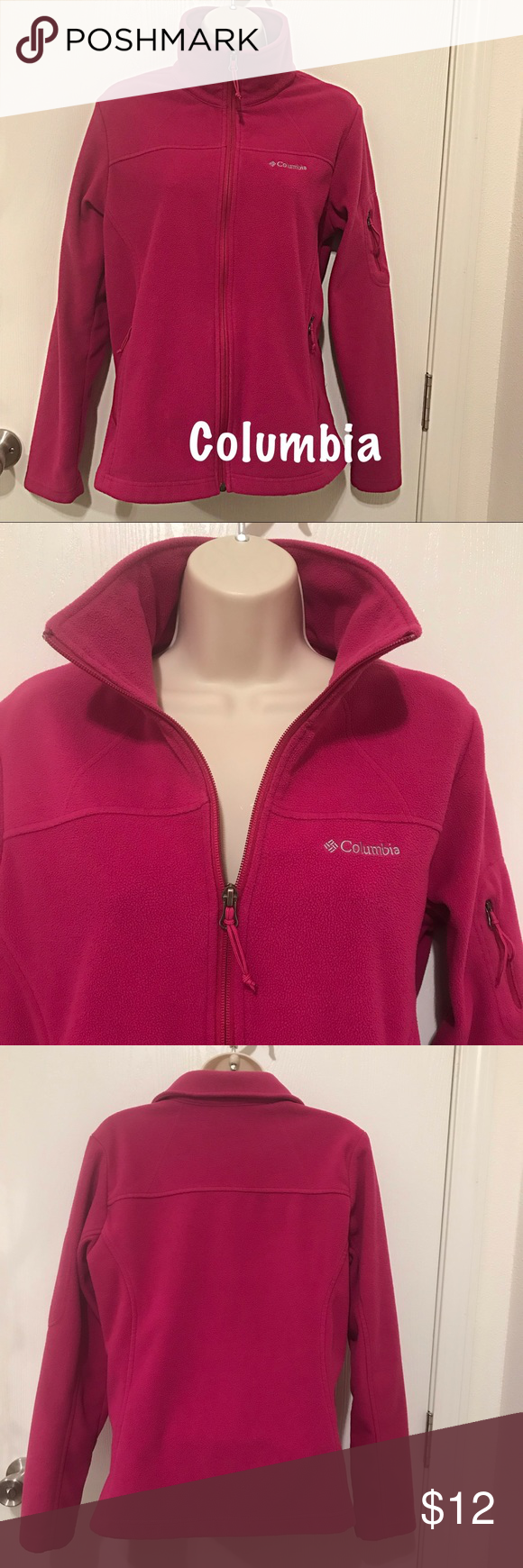 af2103aded5f Women s Columbia Jacket Raspberry