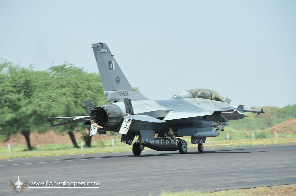 Pakistan Air Force F 16 Shehbaz Air Base With Images