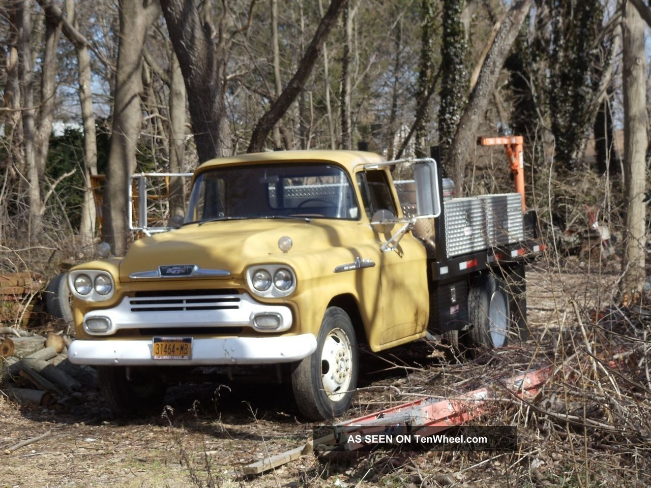 My 1959 Chevy Apache Rare 8ft. Long-bed, stepside & factory Bi ...