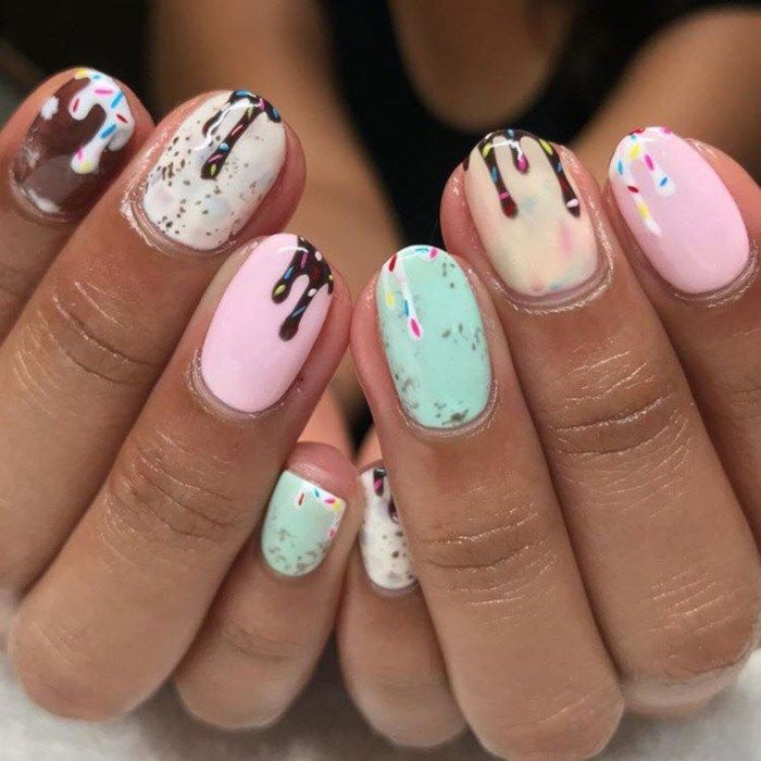 Cute Summer Nail Ideas #summernails