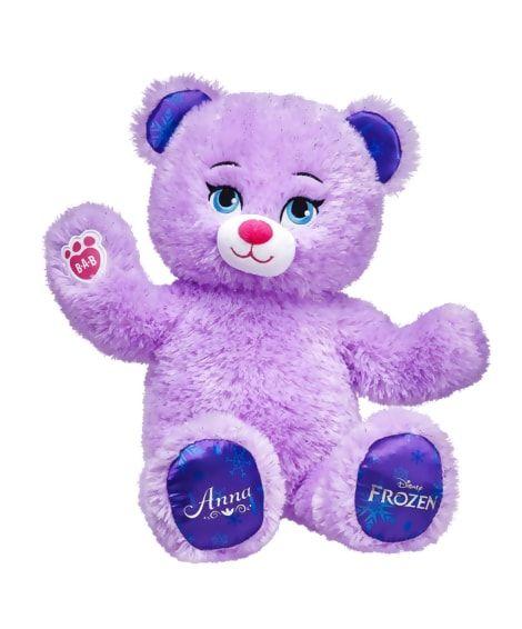 Anna Inspired Bear Build A Bear Build A Bear Custom Stuffed