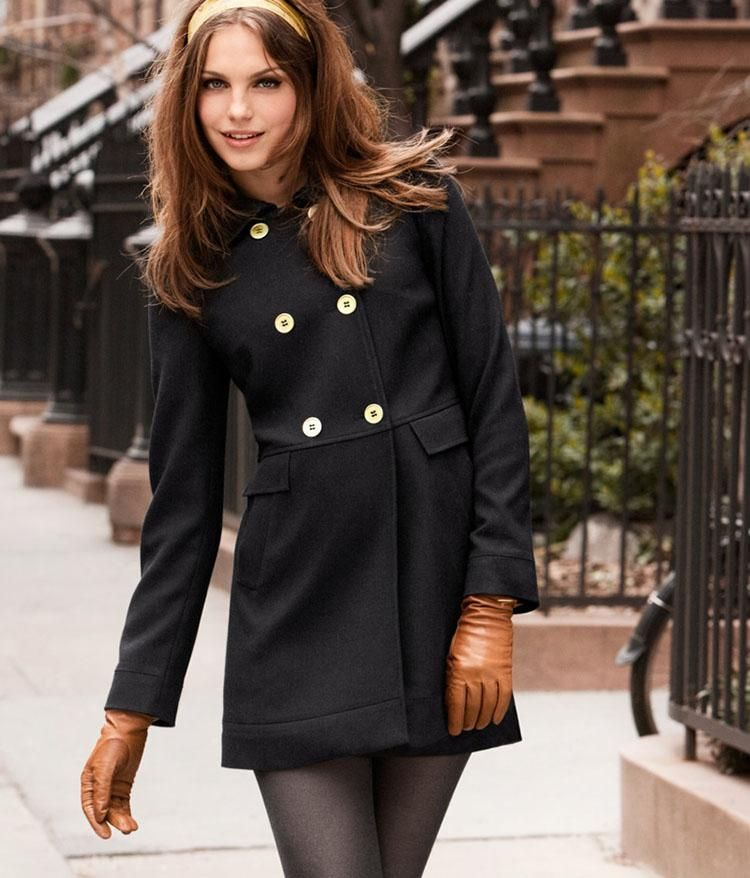 Chic Winter Coats Women : Women Coat Winter Black | Chic Winter ...